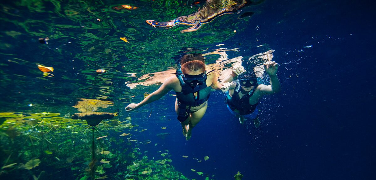 Swimming in Cenotes | Xenotes and Xenses Package